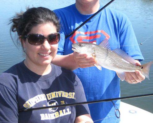 #LightTackleRedfishCharters